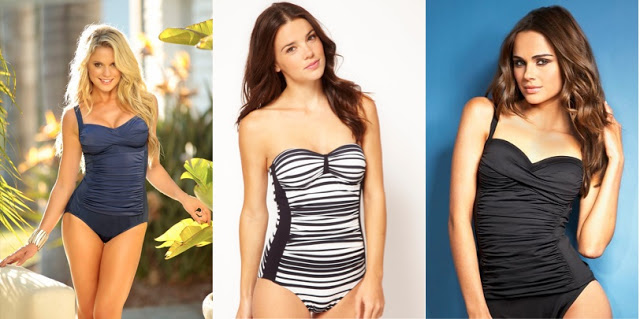 Ruched Swimwear For Your Shape Hide Belly