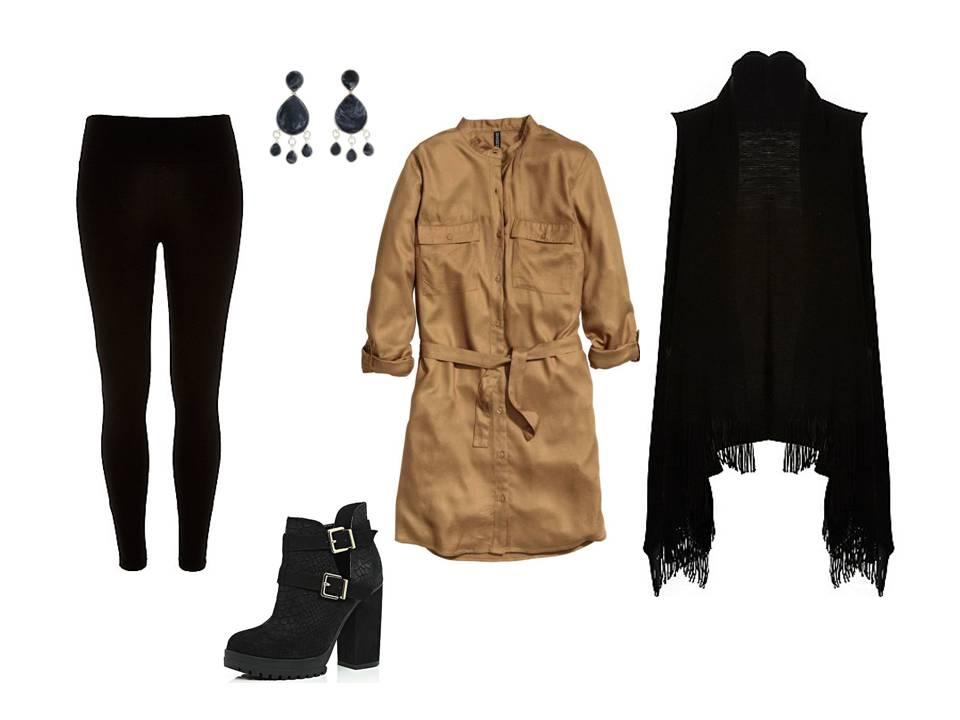 Fekete leggings 3