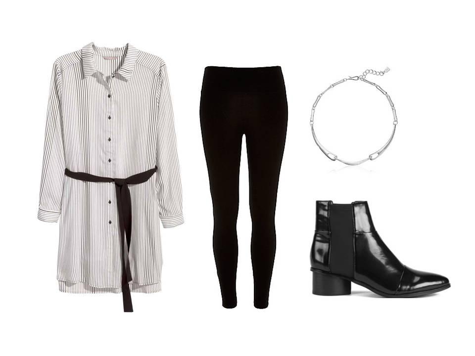 Fekete leggings1