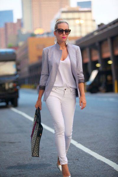 fehér pólós szett