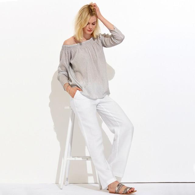 hogyan hordd a lenvászon nadrágot