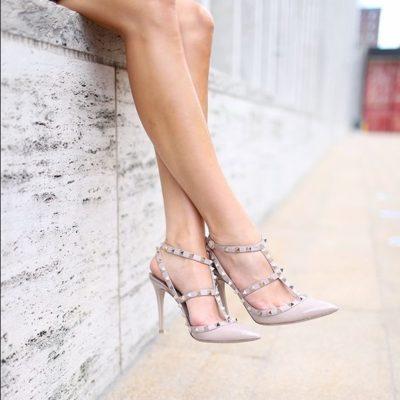 szegecses cipő