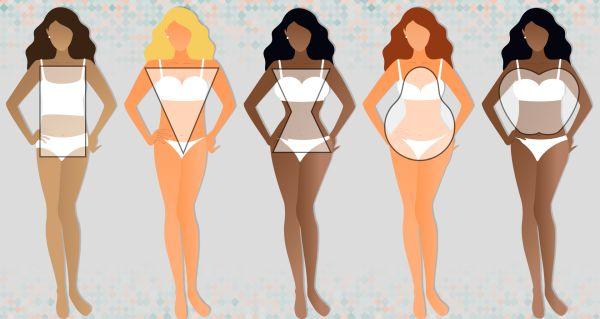 Női testalkat típusok – melyikbe tartozol?
